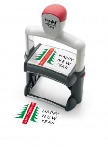 sello automatico con logo para oficinas